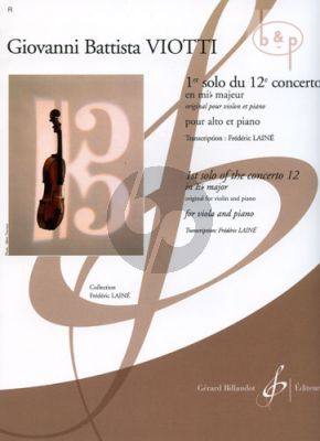 Concerto No.12 E-flat major 1e Solo