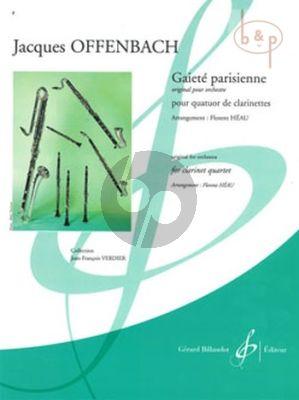 Gaiete Parisienne (3 Clar.[Bb]-Bass Clar.) (Score/Parts) (Heau)