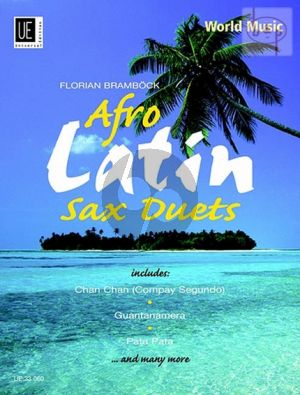 Brambock Afro Latin Sax Duets (2 Alto or Alto and Tenor Saxophones - Playing Score) (Grade 3 - 4)