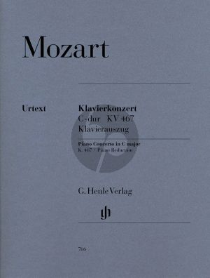Mozart Concerto C-major KV 467 (Piano-Orch.) (piano red.) (Henle-Urtext)