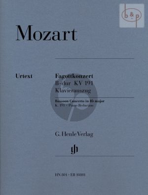 Concerto B-flat major KV 191 (Bassoon-Orch.)