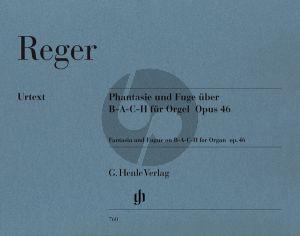 Reger Fantasia & Fuge uber B-A-C-H Op.46 (Kube) (Henle-Urtext)
