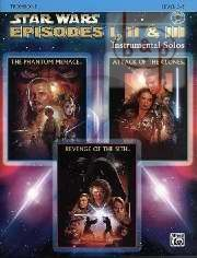 Star Wars Episodes 1 - 2 - 3 (Bk-Cd)