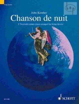 Chanson de Nuit (8 20th.Century Pieces) 2 Vi.-Va.-Vc. (Score/Parts) (arr. John Kember)