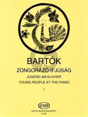 Bartok Young People at the Piano Volume 1