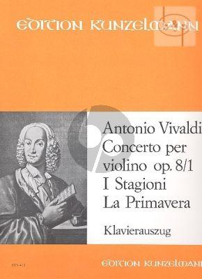 Konzert E-dur Op.8 / 1