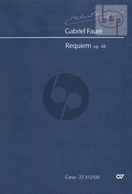 Requiem Op.48 (Soli-Choir-Orch.) (Version 1900)