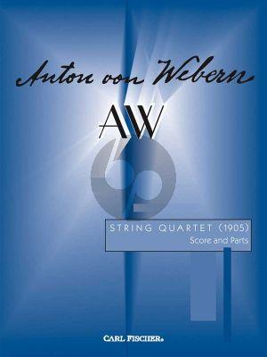 Webern Quartet (1905) 2 Vi.-Va.-Vc. (Score/Parts)