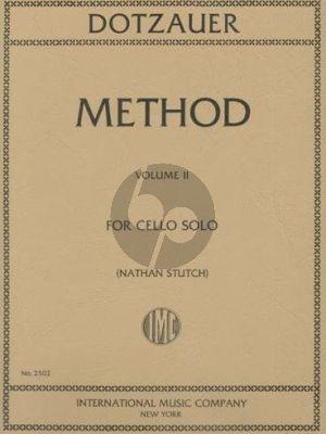 Dotzauer Method Vol. 2 Violoncello (Nathan Stutch)