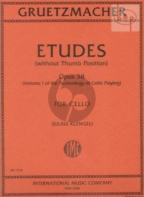 Etudes Op.38 Vol.1 (without Thumb Position)