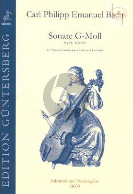 Sonata g-minor WQ 88 (Helm 510)
