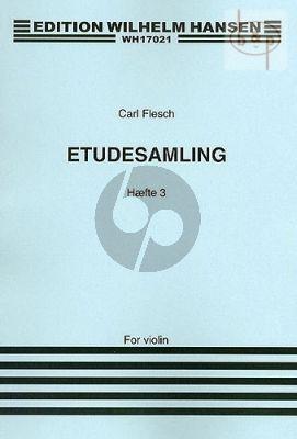 Etuden Sammlung Vol.3 Violin