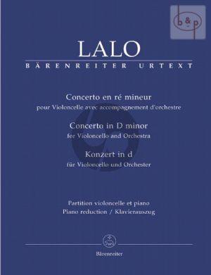 Concerto d-minor (Violoncello-Orch.) (piano red.)
