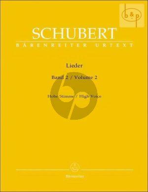 Lieder Vol. 2 Hoch / High