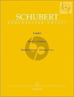 Lieder Vol. 2 Mittel / Medium