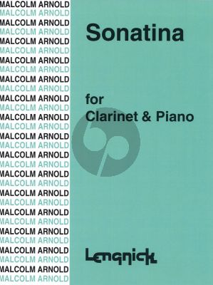 Arnold Sonatina Op.29 for Clarinet and Piano