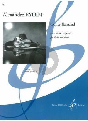 Rydin Conte Flamand Violon-Piano (easy to interm. grades 3-4)