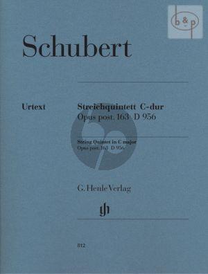 Quintet C-major D.956 Op.Posth.163 (2 Vi.-Va.- 2 Vc.) (Parts)