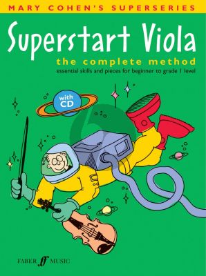Cohen Superstart Viola (Bk-Cd) (The Complete Method, Essential Skills and Pieces for Beginner to Grade 1 Level)