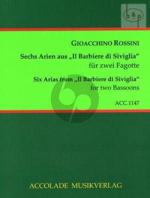 6 Arias from Il Barbiere di Siviglia 2 Bassoons