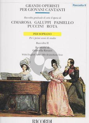 Grandi Operisti per Giovani Cantanti Vol.2