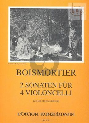 2 Sonaten (a und d-Moll) (4 Vc.)