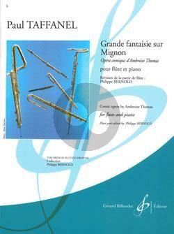 Grande Fantaisie sur Mignon Flute-Piano (Philippe Bernold)
