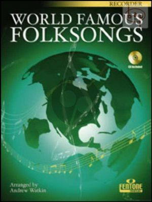 World Famous Folksongs (Sopr.Rec.) (Bk-Cd)