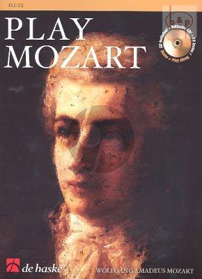 Play Mozart (Flute) (Bk-Cd) (easy-interm.)