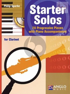 Starter Solos (20 Progressive Pieces) (Clarinet with Piano Accomp.)