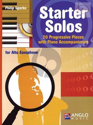 Starter Solos (20 Progressive Pieces) (Alto Sax. with Piano Accomp.)