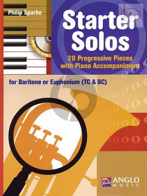 Starter Solos (20 Progr. Pieces) (Baritone [Euphonium] with Piano Accomp