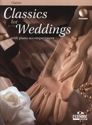 Classics for Weddings for Clarinet and Piano (Bk-Cd)
