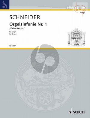 Orgelsinfonie No.1 Pater Noster