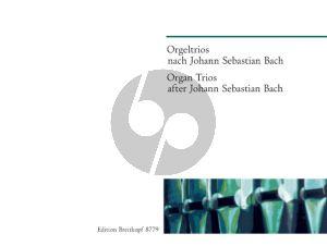 Orgeltrios nach Johann Sebastian Bach (Gerhard Weinberger)