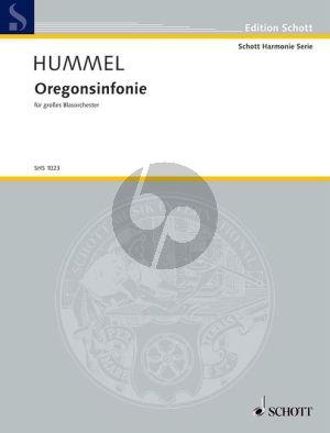 Hummel Oregonsinfonie Op.67 Concert Band (Score)