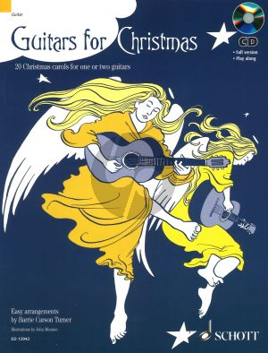 Guitars for Christmas (1 - 2 Guitars) (with Play-Along CD) (Turner)