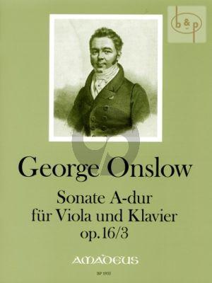 Sonata A-major Op.16 No.3