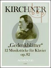 Gedenkblatter Op.82