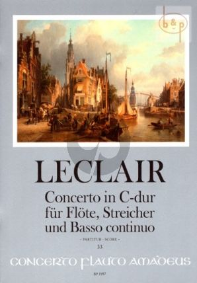 Concerto C-major Op.7 No.3 (Flute-Str.-Bc)