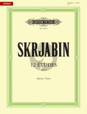 Scriabin 12 Etuden Op. 8 Klavier (Günter Philipp)