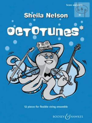 Octotunes (12 Pieces) (Flexible String Ensemble)