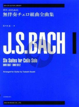 6 Cellosuites Guitar (Zen-On) (Sasaki)