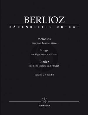 Berlioz Melodies Vol.2 (incl. Les Nuits d'Ete) High (edited by Ian Rumbold)