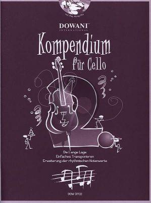Kompendium für Cello Vol. 2 (Buch mit 2 CD's)