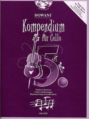 Kompendium für Cello Vol. 5 (Buch mit 2 CD's)