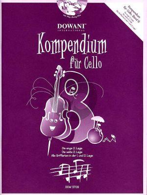 Kompendium für Cello Vol. 8 (Buch mit 2 CD's)