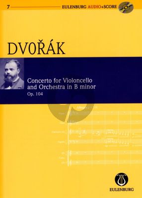 Dvorak Concerto B-minor Op.104 Violoncello and Orchestra (Study Score with Audio CD) (Richard Clarke)