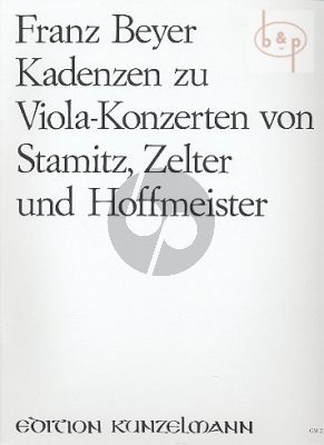 Cadenzas to Concertos by Hoffmeister-Stamitz and Zelter
