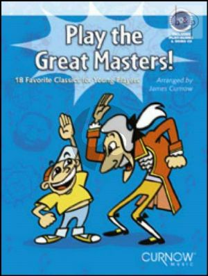Play the Great Masters (Trombone[TC/BC]- [Euph./Bassoon]) (Bk-Cd)
